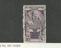 Italian Colonies, Postage Stamp, #234 Used, 1933 Camel