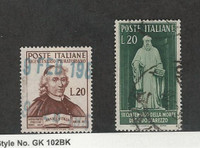 Italy, Postage Stamp, #540-541 Used, 1950