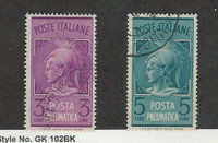 Italy, Postage Stamp, #D19-C20 Used, 1947