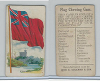 E16 Dockman & Son, Flag Chewing Gum, 1920's, England