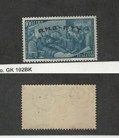 Italy - AMG Trieste, Postage Stamp, #29 Mint NH Light Crease, 1948
