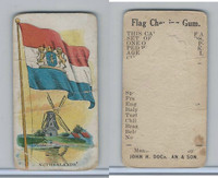 E16 Dockman & Son, Flag Chewing Gum, 1920's, Netherlands
