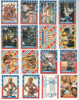1991 Topps, American Gladiators, Complete Set of 88 Cards & 11 Stickers, WMX