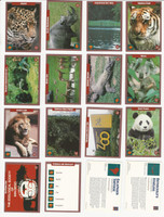 1992 Mundus Amicos, Environmental Action, Animals Series, Set of 50 Cards, WMX