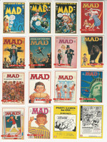 1992 Lime Rock, Mad Magazine Cards Series I, Set of 55 Cards, WMX