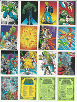 1992 Comic Images, Savage Dragon, Complete Set of 90 Cards, WMX