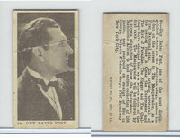 T85-1 Tobacco Products Corp, Movie Stars, 1922, #64 Guy Bates Post