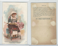 H639 Singer Sewing, Costumes of all Nations, 1892, Neapolitan Italy
