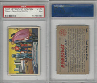 1951 Bowman, Jets, Rockets, Spacemen, #102 Final Day On Kroto, PSA 7 NM