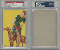 W424-2f Mutoscope, Yankee Doodle Girls, 1942, A Hitch in Time, PSA 5.5 EX+