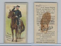 E170 Heides Candies, U.S. Army Uniforms, 1920's, #15 Major General