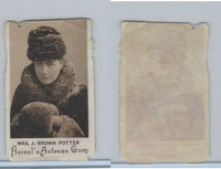 E180 Heisels, Actress Gum, 1890's, Mrs. J. Brown Potter (skinned)
