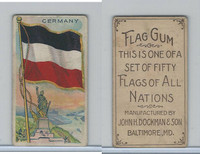 E18-1C John Dockman, Flag Chewing Gum, 1910, Germany
