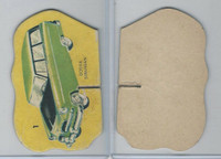 1950's Automobile Game Piece Cards, Car, #1 Dodge Suburban