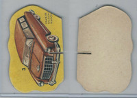 1950's Automobile Game Piece Cards, Car, #3 Rambler Station Wagon