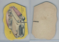 1950's Automobile Game Piece Cards, Car, #12 Oldsmobile Sedan