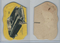 1950's Automobile Game Piece Cards, Car, #15 Ford Convertible