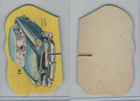 1950's Automobile Game Piece Cards, Car, #16 Dodge Sedan