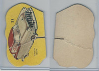 1950's Automobile Game Piece Cards, Car, #21 Hudson Sedan