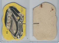 1950's Automobile Game Piece Cards, Car, #22 Cadillac Coupe