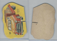 1950's Automobile Game Piece Cards, Car, #24 Dodge Truck