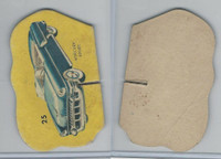 1950's Automobile Game Piece Cards, Car, #25 Mercury Sport
