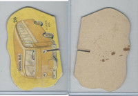 1950's Automobile Game Piece Cards, Car, #26 School Bus