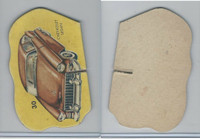 1950's Automobile Game Piece Cards, Car, #30 Chevrolet Sedan