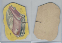 1950's Automobile Game Piece Cards, Car, #32 Lincoln Coupe