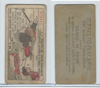 M18 Lucky Safety Cards, 1953, Be A Good Example, Albany Times