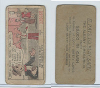 M18 Lucky Safety Cards, 1953, Obey All Traffic Officers, Albany Times