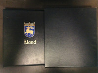 Aland 1984-2006 Davo Hingless Stamp Album, Binder, Dustcase, 55 Pages