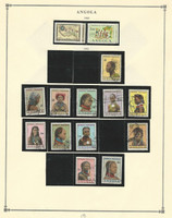 Angola, Portugal Colony, 1941-1962 on 9 Scott International Pages