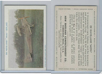 E195 New England Confectory, Airplane, 1930's, #5 De Havilland Moth