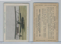 E195 New England Confectory, Airplane, 1930's, #11 Curtiss Tanager