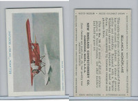 E195 New England Confectory, Airplane, 1930's, #12 Bellanca CH300
