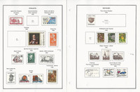 Denmark Collection 1989-1996 on 16 Pages, Neatly Mounted
