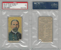 E2 Lauer & Suter, Navy Candy, 1920's, Capps, Rear Adm R. Lee, PSA 1