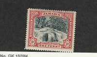 Jamaica, Postage Stamp, #32 Mint Hinged, 1901