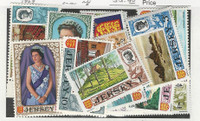 Jersey, Postage Stamp, #7-21 Mint NH, 1969