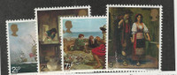 Jersey, Postage Stamp, #57-60 Mint NH, 1971 Art