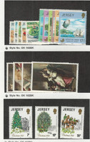 Jersey, Postage Stamp, #231-245, 282-284 Mint NH, 1980-81