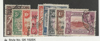 Kenya, Uganda KUT, Postage Stamp, #66//81 (9 Different) Used, 1938-54