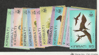 Kiribati, Postage Stamp, #384-399 Mint NH, 1982-85 Set, Birds