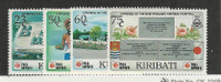 Kiribati, Postage Stamp, #573-576 Mint NH, 1991 Hospital