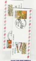 Korea, Postage Stamp, #1523a-1524a Booklet Mint NH + Used, 1990