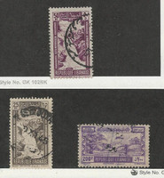 Lebanon, Postage Stamp, #C97, C98, C99 Used, 1945 Airplane