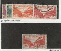 Lebanon, Postage Stamp, #C145A-C147, C147B Used, 1949 Airmail