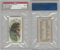 E28 Philadelphia Caramel, Zoo Cards, 1909, Black Bear, PSA 3 VG