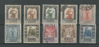 Libya, Postage Stamp, #47//59 (10 Different) Mint & Used, 1924-40 (p)